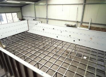 Nerezový bazén výroba