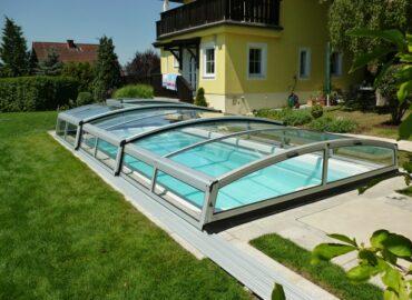Bazénové zastřešení DANAE